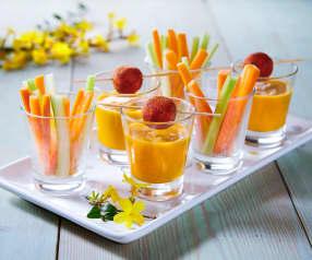 Mousse di carote e sedano