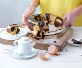 Gâteau vapeur marbré