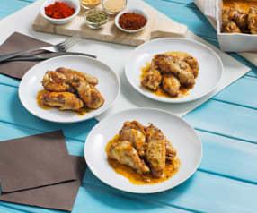 Alitas de pollo estilo cajún