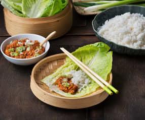 Dip coreano con manzana (Sagwa-ssamjang) - Corea