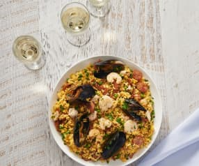 Seafood con arroz