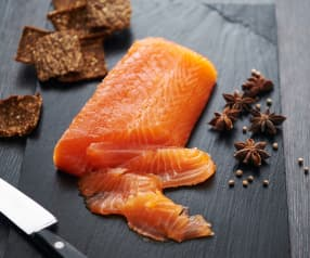 Anise-cured salmon