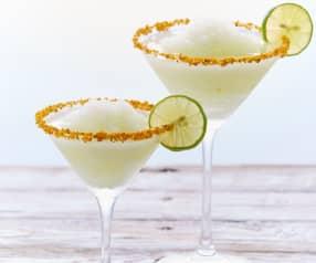 Margarita con escarcha de cítricos
