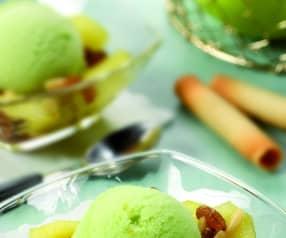 Sorbetto di mela verde