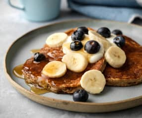 Multigrain Banana Pancakes