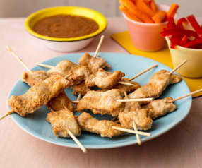 Satay Turkey Skewers