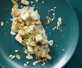 Celerové ragú s mandlemi