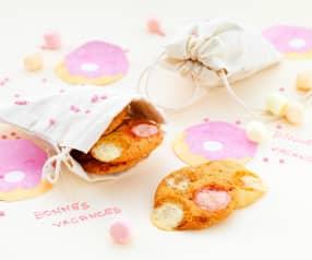 Mini-cookies aux guimauves
