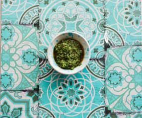 Petersilie-Chili-Pesto