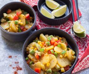 Mexikanischer Kartoffelsalat
