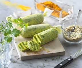 Hanfsamen-Kräuter-Butter