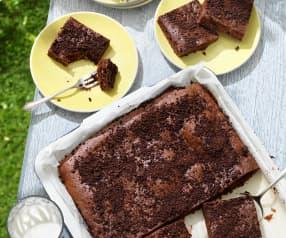 Zucchini-Nuss-Brownies