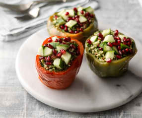 Tabbouleh-stuffed Peppers