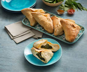 Empanadas libanesas de espinacas (Fatayers) - Líbano