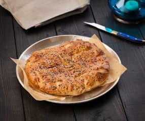 Pan pide turco (Pide ekmek) - Turquía