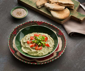 Paté de berenjena (Baba ganush) - Líbano