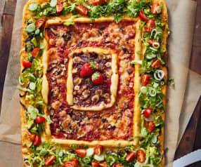 3-Gänge-Pizza