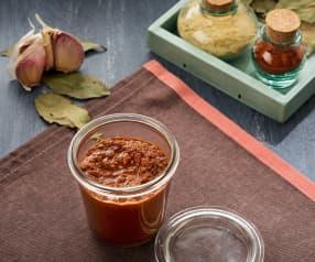 Pasta de curry rogan josh - Subcontinente indio