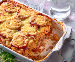 Tomaten-Thunfisch-Auflauf