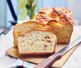 Schnelles Schinken-Käse-Brot
