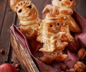 Bonhomme en pâte