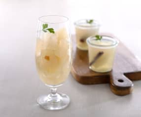 糖漬水梨凍