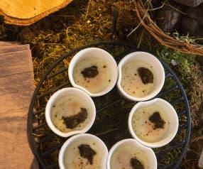 Uova in cocotte al tartufo
