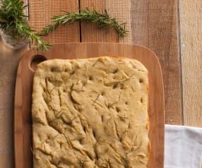 Focaccia al rosmarino con farina di quinoa
