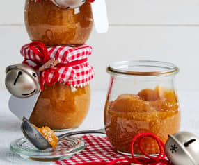 Confiture kaki-physalis