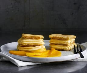 Mango-Cremeschnitte