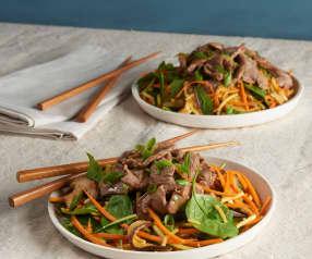 Steak Stir Fry Salad