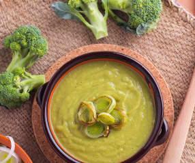 Crema di broccoli e porri