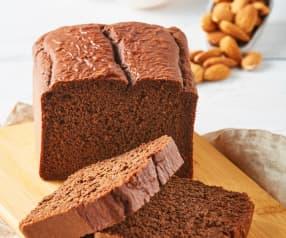 Panqué de chocolate low carb