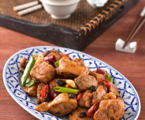 豆豉芋頭雞