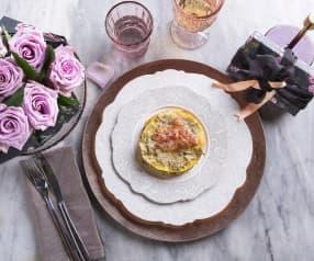 Lasagnette con pancetta, patate e carciofi (per 2 persone) (senza glutine)