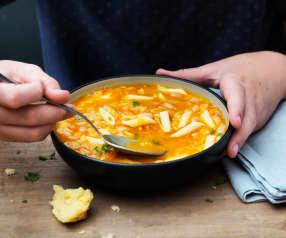 Soupe de pâtes