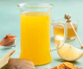 Lemon Ginger Morning Elixir