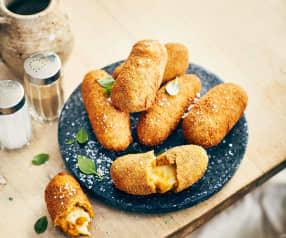 Croquettes de patates douces à la mozzarella