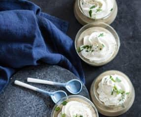Crème de lentilles au lard