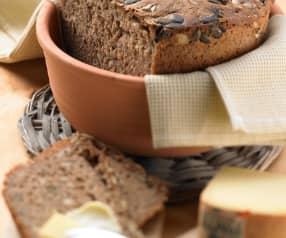Špaldovo-pohankový chléb