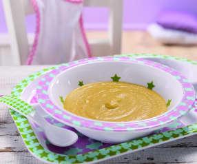 Gemüse-Kartoffel-Brei mit Rindfleisch