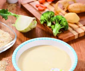 Grundrezept Gemüse-Kartoffel-Fleisch-Brei (für den 5. bzw. 6./7. Monat)
