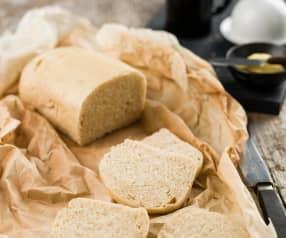 Pão de forma sem côdea