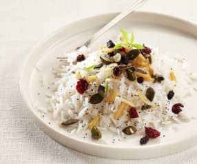 Pilaf de riz aux fruits secs