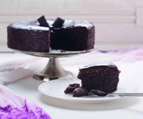 Torta caprese - migdałowe ciasto czekoladowe