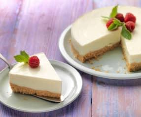 Lentetaart met yoghurt