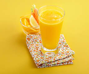 Jus vitaminé orange, carotte et citron