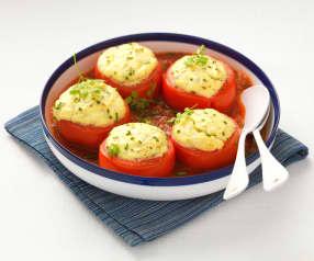 Rajčata s bylinkovou náplní