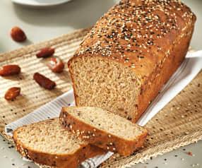 Celozrnný chléb s pivem a datlemi
