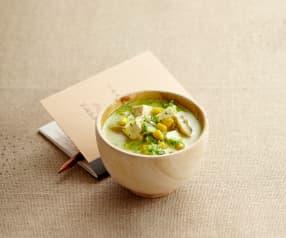 Extra výživná vegetariánská polévka